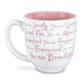 You Are Beautiful, Ceramic Mug Various Scripture
