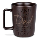 Dad, Stand Firm Ceramic Mug (1 Corinthians 15:58)(16 oz.)