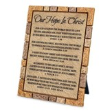 Our Hope In Christ, Easter Plaque
