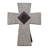 The Lord's Prayer, Cast Stone Cross
