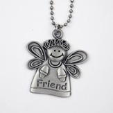Angel, Friend, Car Charm