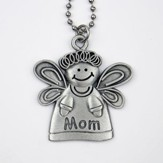Angel, Mom, Car Charm