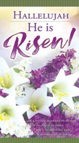 Hallelujah, He Is Risen! (Romans 6:4, KJV) Offering Envelopes, 100