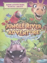 Jungle River Adventure: Junior Activity Pages with Stickers