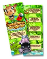 Jungle River Adventure: Bookmarks, pack of 25