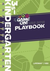 Game On: Playbook, 3s - Kindergarten