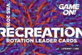 Game On: Recreation Rotation Leader Cards (pkg. of 25)