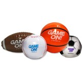 Game On: Small Inflatable Sports Balls (pkg. of 4)