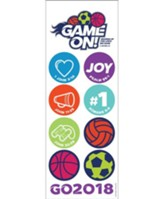 Game On: Decoration Punch-Outs (pkg. of 6)