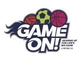 Game On: Logo Iron-Ons (pkg. of 10)
