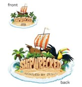 Shipwrecked: Iron-On Transfers (pkg. of 10)