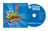 Hands-On Bible: Toddlers & 2s CD, Summer 2018
