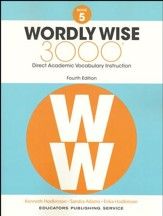 Wordly Wise 3000 Book 5 Student  Edition (4th Edition;  Homeschool Edition)