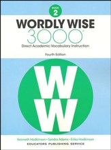 Wordly Wise 3000 Book 2 Student  Edition (4th Edition;  Homeschool Edition)