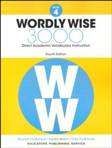 Wordly Wise 3000 Book 4 Student  Edition (4th Edition;  Homeschool Edition)