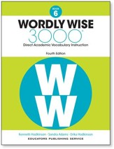 Wordly Wise 3000 4th Edition Student Book Grade 6