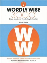 Wordly Wise 3000 4th Edition Student Book Grade 7