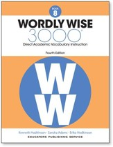 Wordly Wise 3000 4th Edition Student Book Grade 8