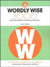 Wordly Wise 3000 4th Edition Student Book Grade 10