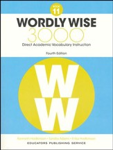 Wordly Wise 3000 Book 11 Student  Edition (4th Edition;  Homeschool Edition)