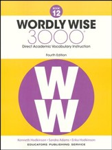 Wordly Wise 3000 Book 12 Student  Edition (4th Edition;  Homeschool Edition)