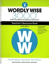 Wordly Wise 3000 Book 6 Teacher's  Guide (4th Edition;  Homeschool Edition)