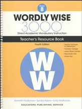 Wordly Wise 3000 Book 8 Teacher's  Guide (4th Edition;  Homeschool Edition)