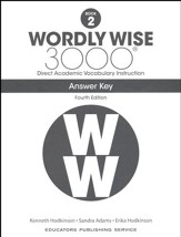 Wordly Wise 3000 Book 2 Key (4th  Edition; Homeschool  Edition)