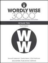 Wordly Wise 3000 Book 8 Key (4th Edition; Homeschool  Edition)