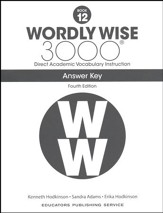 Wordly Wise 3000 Book 12 Key (4th  Edition; Homeschool  Edition)