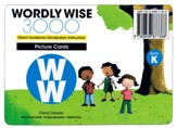 Wordly Wise 3000 Book K Picture  Cards (2nd/4th Edition;  Homeschool Edition)