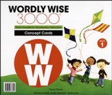 Wordly Wise 3000 Book 1 Concept  Cards (2nd/4th Edition;  Homeschool Edition)