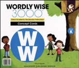 Wordly Wise 3000 Book K Concept  Cards (2nd Edition)
