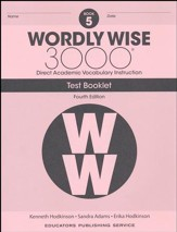 Wordly Wise 3000 Book 5 Tests (4th  Edition; Homeschool  Edition)