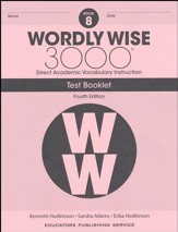 Wordly Wise 3000 Book 8 Tests (4th  Edition; Homeschool  Edition)
