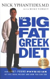 My Big Fat Greek Diet, Softcover