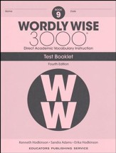 Wordly Wise 3000 Book 9 Tests (4th  Edition; Homeschool  Edition)