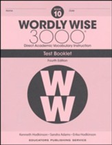 Wordly Wise 3000 Book 10 Tests (4th  Edition; Homeschool  Edition)