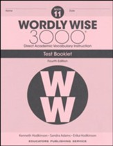 Wordly Wise 3000 Book 11 Tests (4th  Edition; Homeschool  Edition)