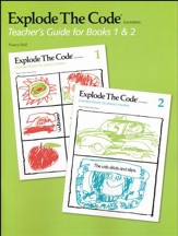 Explode the Code, Teacher's Guide for Books 1 and 2 (2nd  Edition; Homeschool Edition)