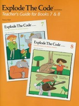Explode the Code Teacher's Guide for  Books 7 & 8 (2nd  Edition; Homeschool Edition)