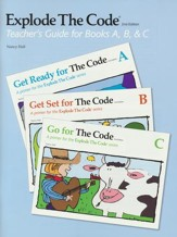 Explode the Code, Teacher's Guide  for Books A, B, and C (2nd Edition; Homeschool Edition)