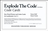 Code Cards, set of 54 (2nd Edition;  Homeschool Edition)