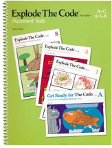 Explode the Code Placement Test (2nd  Edition; Homeschool  Edition)