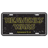 Heavenly Wars, Ephesians 6:12, License Plate