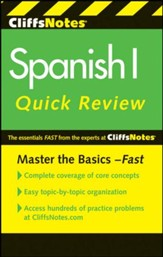 CliffsNotes Spanish I QuickReview,  2nd Edition