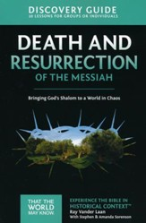 TTWMK Volume 4: Death and Resurrection of the Messiah, Discovery Guide