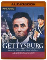 Gettysburg: A Radio Dramatization on MP3-CD