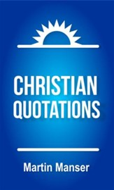 Christian Quotations - eBook