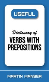 Useful Dictionary of Verbs with Prepositions - eBook